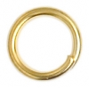 Jump Ring Gold 4.5mmid 7mm